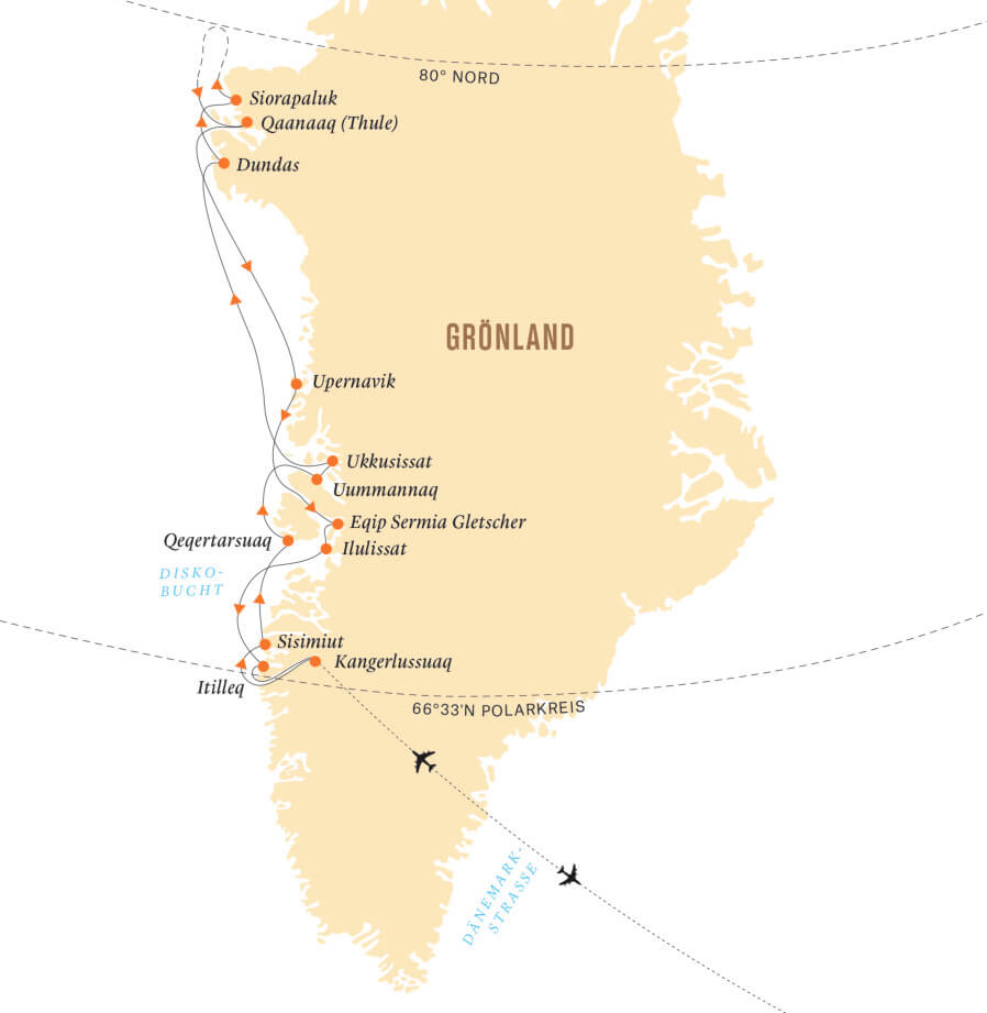 Expedition Thule 2018 Einzel ohne Zuschlag