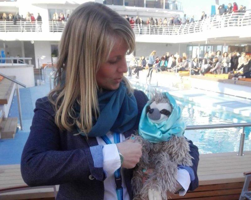 Ein Foto mit Kreuzfahrtberater Fred :-)