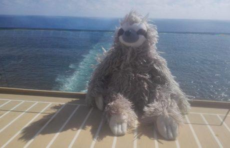 Kreuzfahrtberater Fred an Deck