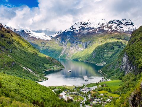 Magie der Fjorde