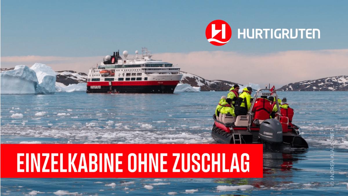 Hurtigruten MS Fram bis zum 31032018 buchen