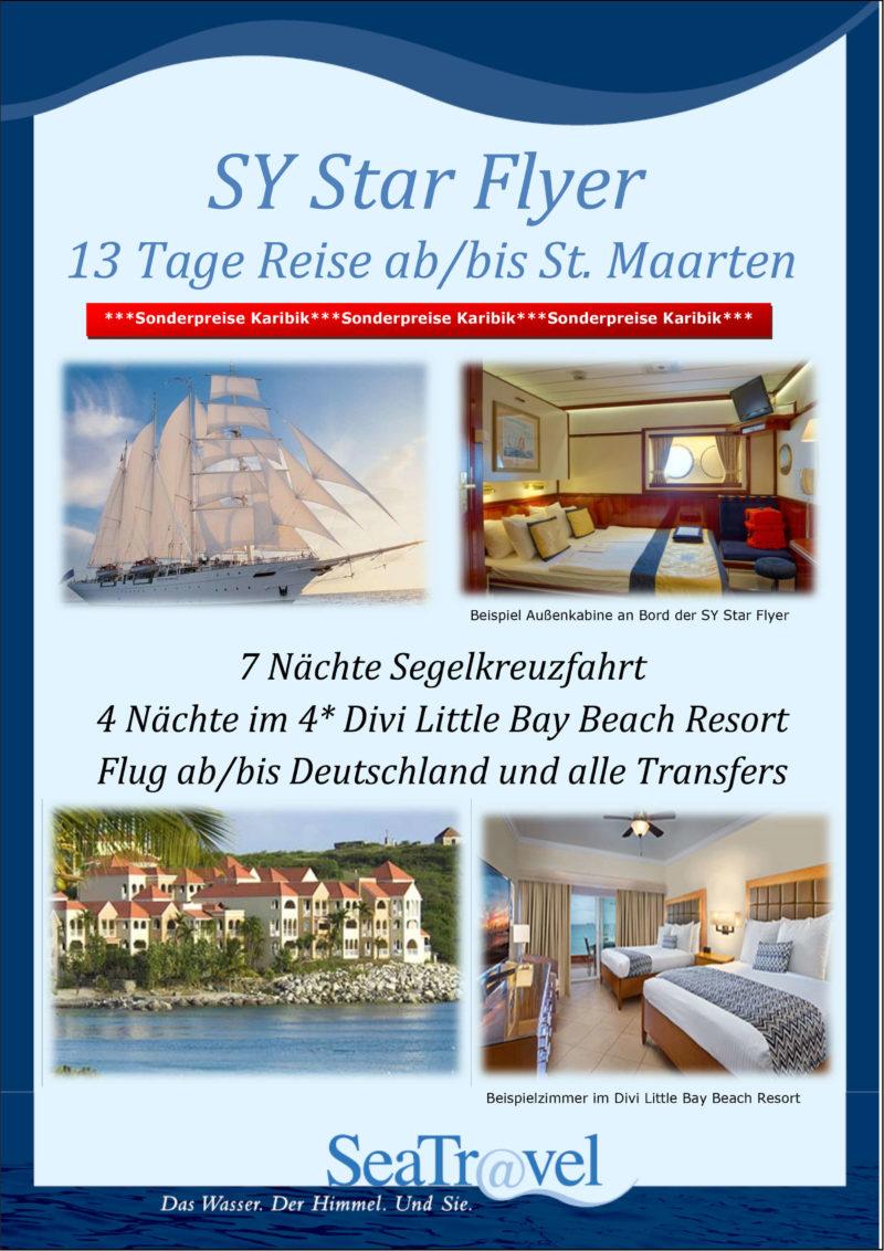 St Marteen 13 Tage SeaTravel